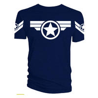 Captain America Super Soldier T-shirt Thumbnail 1