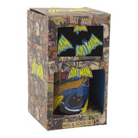 Batman Vintage Mug and Sock Gift Set Thumbnail 1