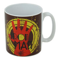 Art Deco Iron Man Glove Mug