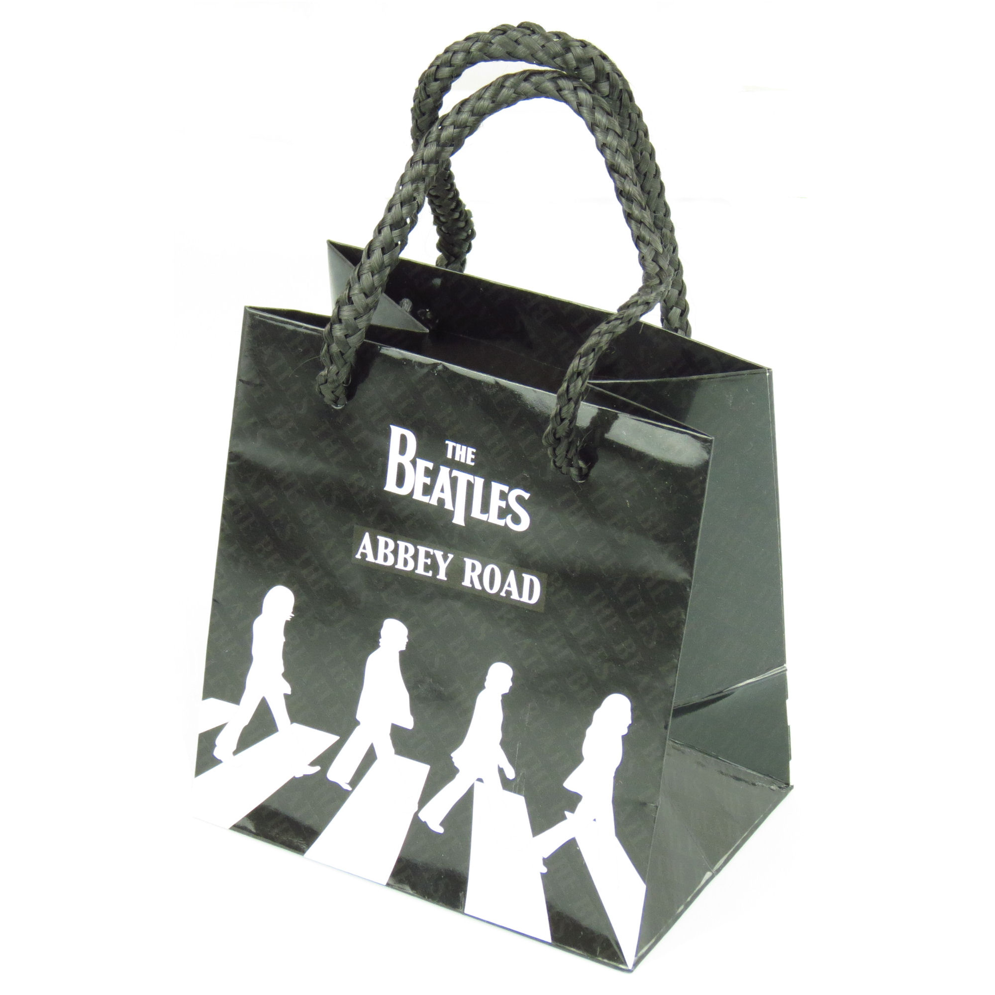 The Beatles Black & White Abbey Road Small Gift Bag