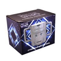 Cyberman's Head 3D Shaped Mug Thumbnail 3