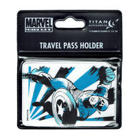 Captain America Black & Blue Travel/Oyster Card Holder Thumbnail 2
