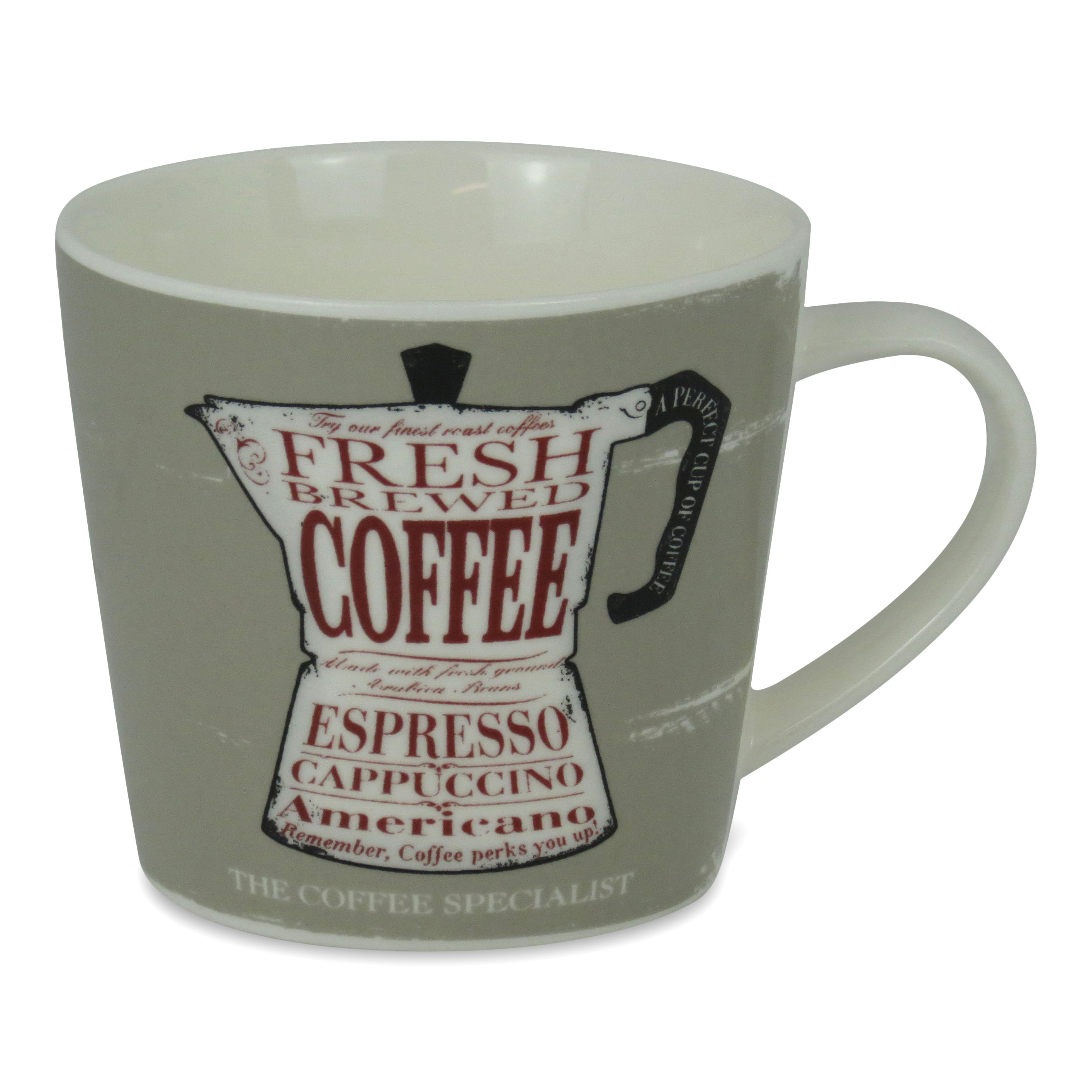 The Coffee Specialist Porcelain Mug
