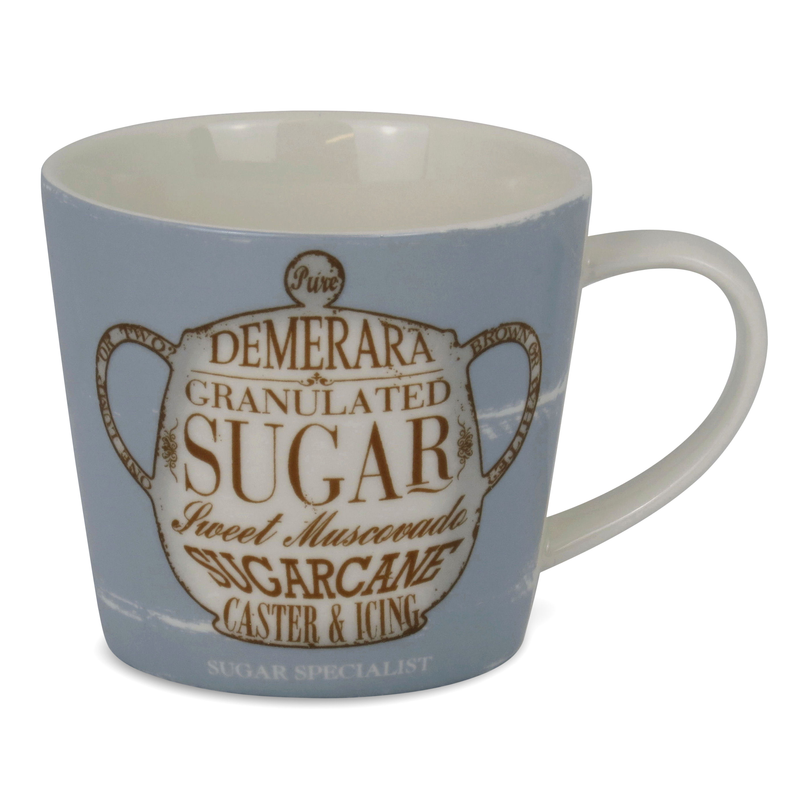 The Sugar Specialist Porcelain Mug