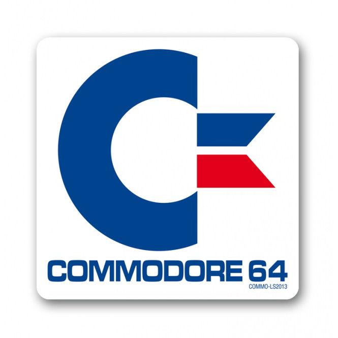 Afbeeldingsresultaat voor commodore 64 logo