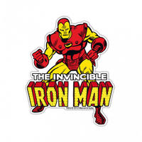 The Invincible Iron Man Die Cut Fridge Magnet