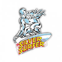 Silver Surfer Die Cut Fridge Magnet