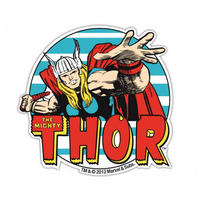 The Mighty Thor Die Cut Fridge Magnet