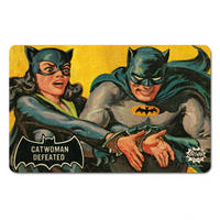 Catwoman Defeated By Batman Breakfast Cutting Board Thumbnail 1