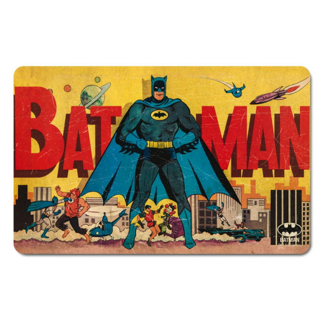 Batman & Gotham City Skyline Breakfast Cutting Board