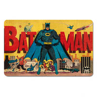 Batman & Gotham City Skyline Breakfast Cutting Board Thumbnail 1