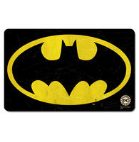 Retro Batman Logo Breakfast Cutting Board Thumbnail 1