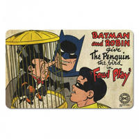 Batman, Robin, & The Penguin Breakfast Cutting Board