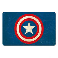 Captain America Shield Breakfast Cutting Board
