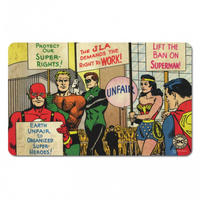 Justice League America Breakfast Cutting Board Thumbnail 1
