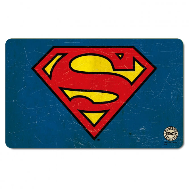 Superman Traditional Logo Breakfast Cutting Board