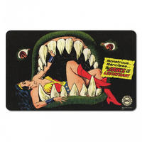 "Wonder Woman ""Jaws Of The Leviathan"" Breakfast Cutting Board Thumbnail 1"