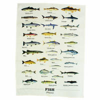 Ecologie Fish Species Tea Towel Thumbnail 1