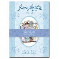 Jane Austen A5 Hardback Notebook