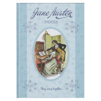 Jane Austen A4 Hardback Notebook