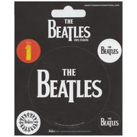 Beatles Logo Set of 5 Vinyl Stickers