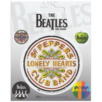 Beatles Sergeant Pepper Set of 5 Vinyl Stickers