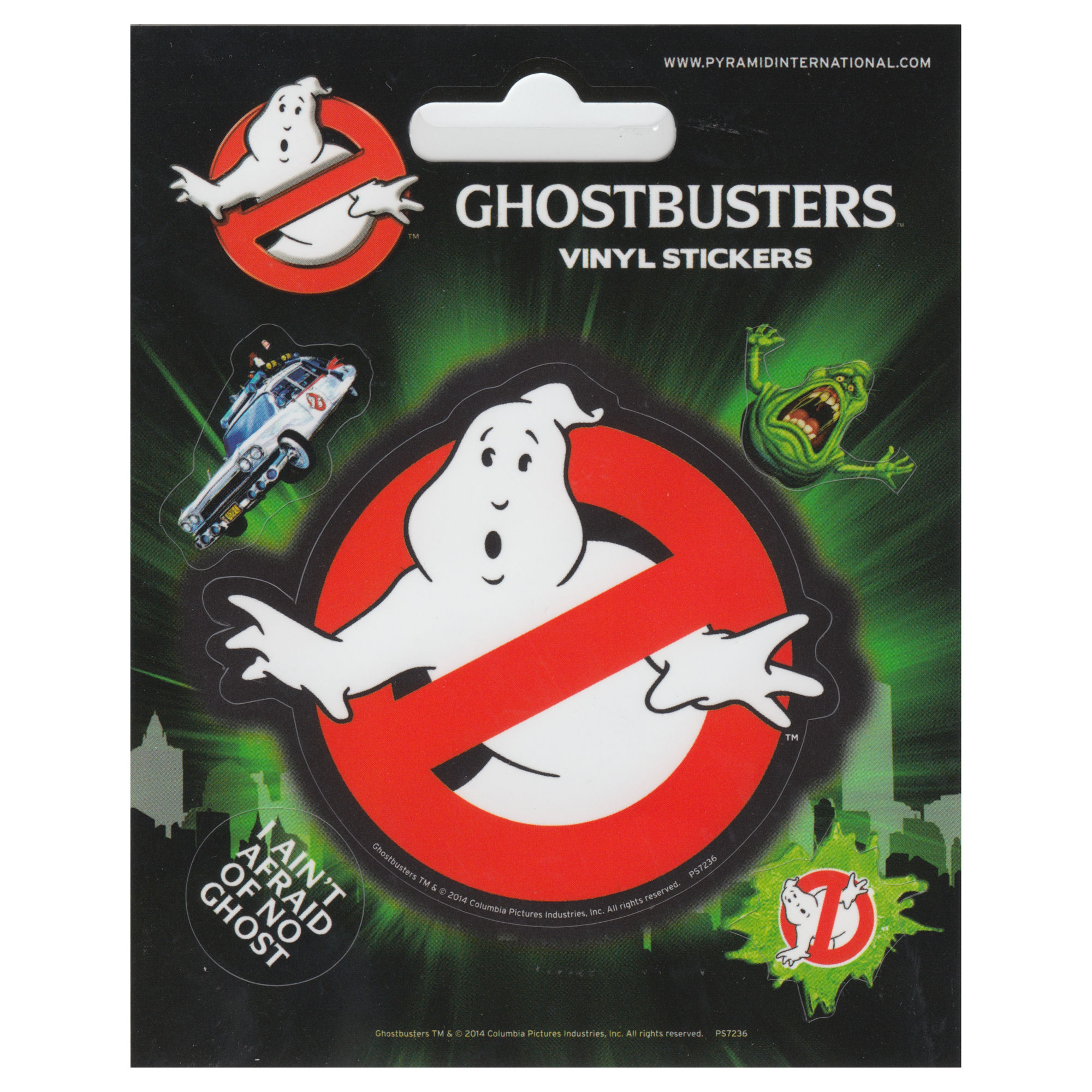Ghostbusters Set of 5 Vinyl Stickers