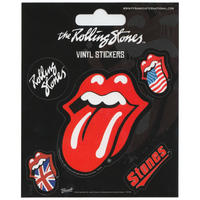 Rolling Stones Set of 5 Vinyl Stickers