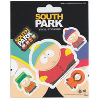 South Park Set of 5 Vinyl Stickers