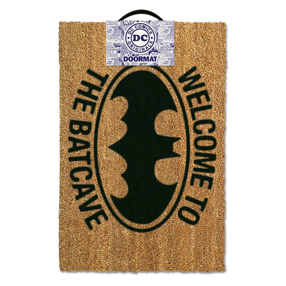 Welcome To The Batcave Door Mat