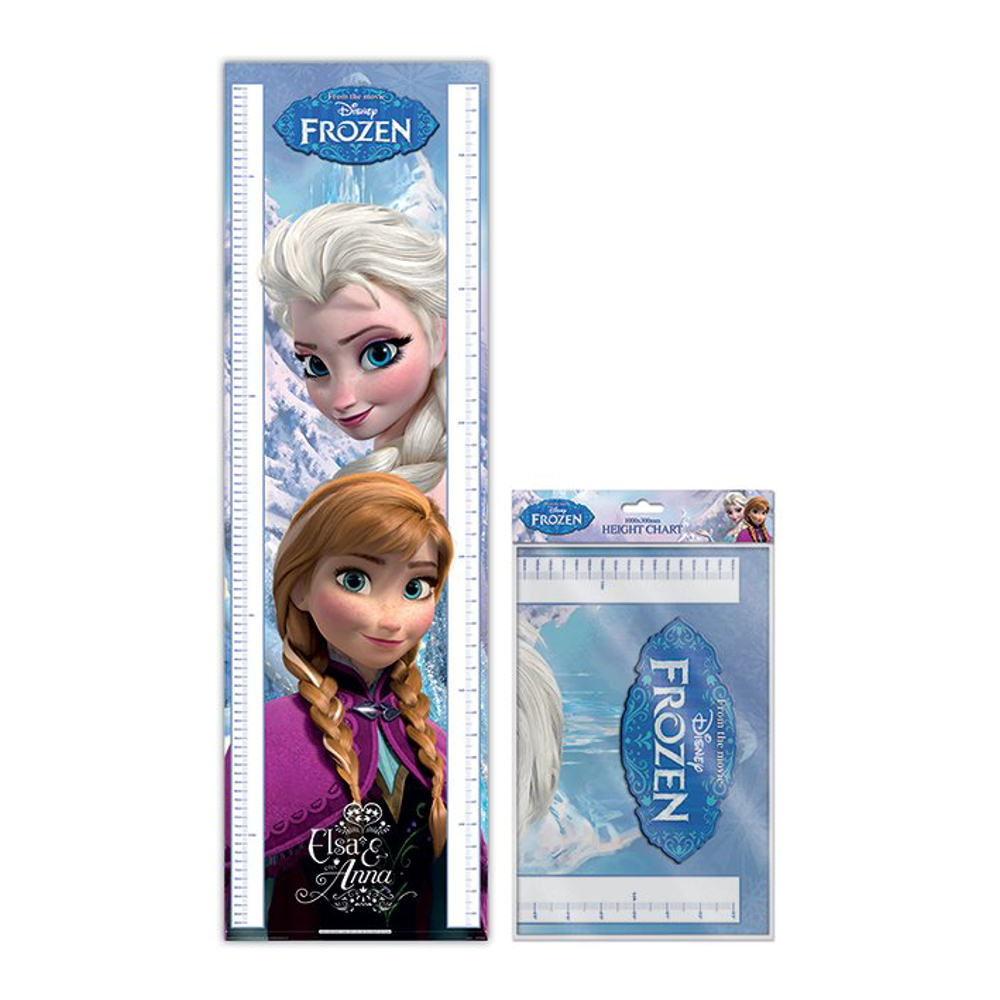 Frozen Anna & Elsa Height Chart