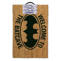 Welcome To The Batcave Door Mat Thumbnail 1