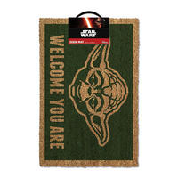 "Star Wars Yoda ""Welcome You Are"" Door Mat"