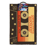 Guardians Of The Galaxy Awesome Mix Tape Door Mat Thumbnail 1