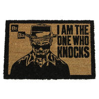 "Breaking Bad ""I Am The One Who Knocks"" Door Mat Thumbnail 1"