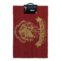 "Harry Potter ""Welcome To Hogwarts"" Door Mat"