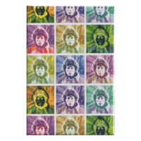Doctor Who Tom Baker Heads Fridge Magnet Thumbnail 1