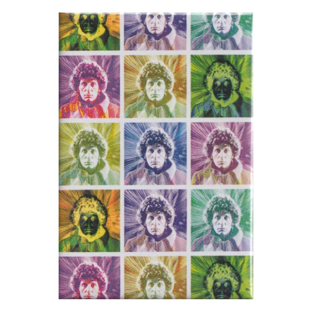 Doctor Who Tom Baker Heads Fridge Magnet
