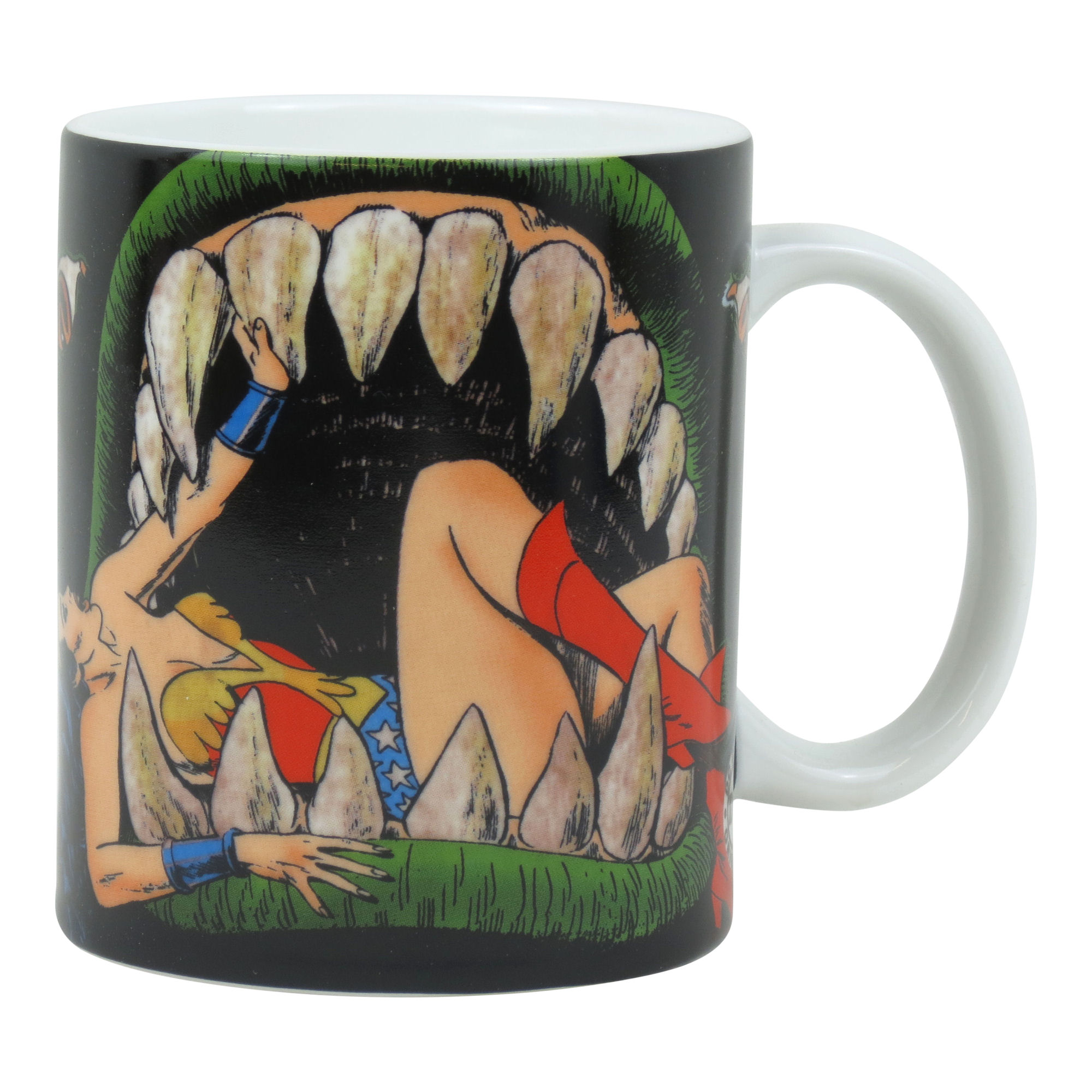 "Wonder Woman ""Jaws Of Leviathan!"" Mug"