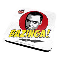 Big Bang Theory Sheldon Bazinga Coaster