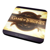 Game Of Thrones Opening Logo Coaster