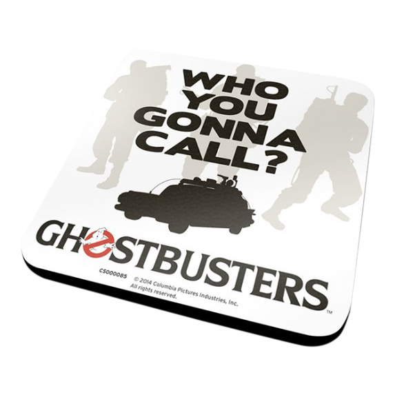 Ghostbusters Who You Gonna Call? Coaster