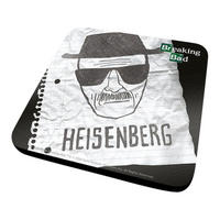 Breaking Bad Heisenberg Face Sketch Coaster Thumbnail 1