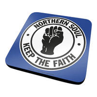 Northern Soul Keep The Faith Coaster