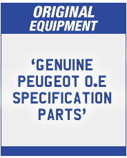 Peugeot Original Equipment Parts