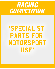 Peugeot Racing Competition Parts