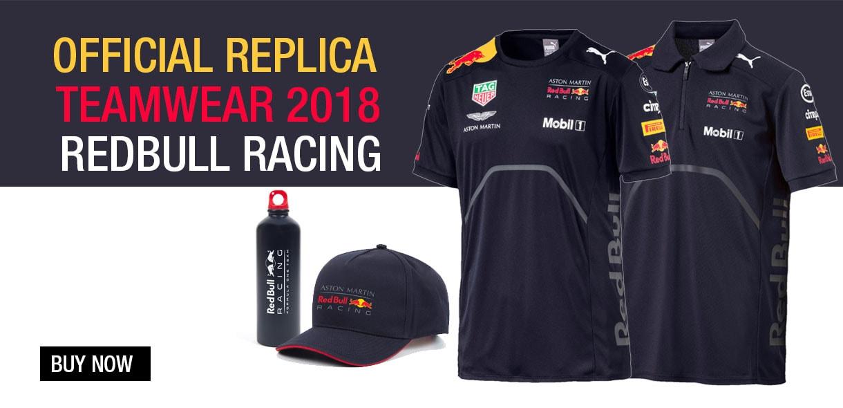 Official replica teamwear 2018 redbull racing