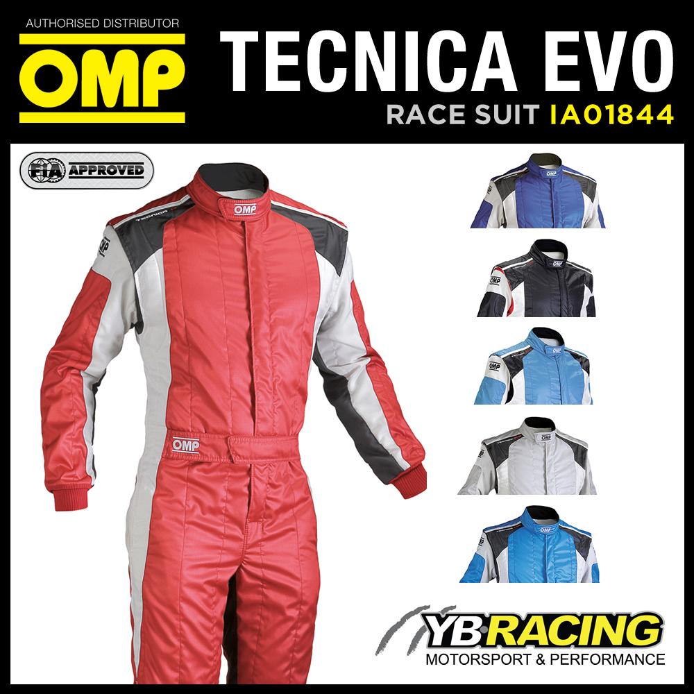 Racing Fire Suits >> Omp Tecnica Evo Race Suit