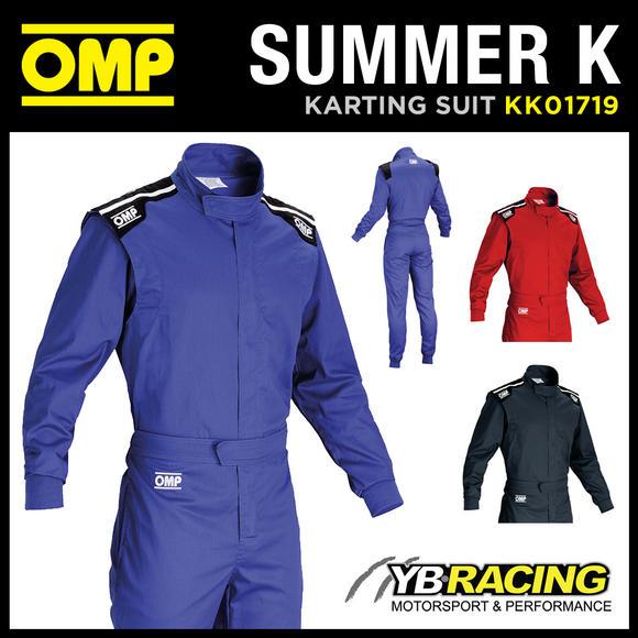 KK01719 OMP SUMMER K KART SUIT