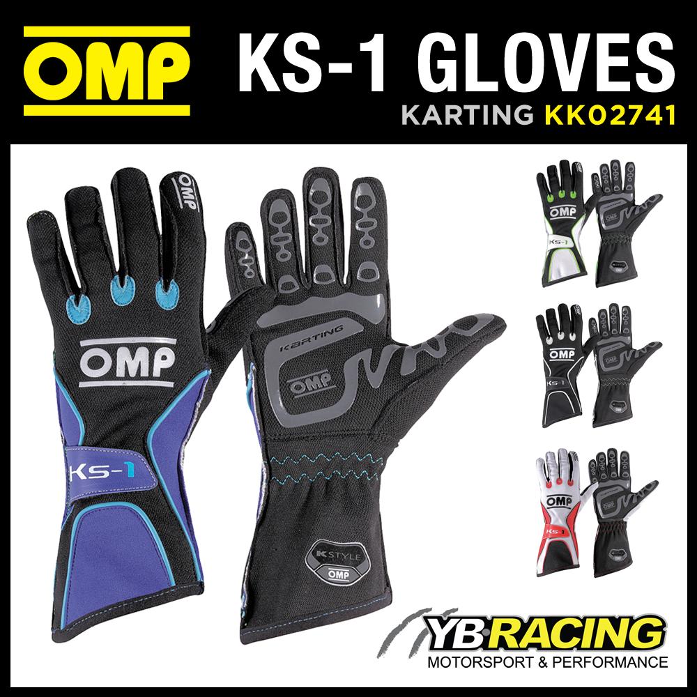 KK02741 OMP KS-1 KART GLOVES